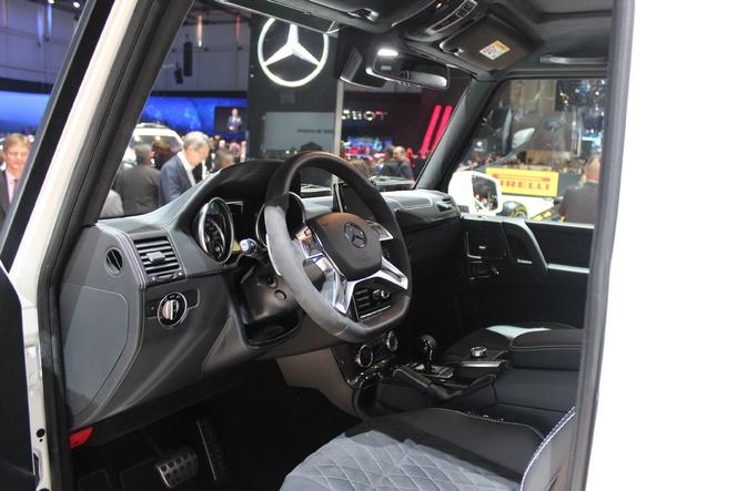 Mercedes  G500 4X4² : Big Foot - En direct du salon de Genève 2015