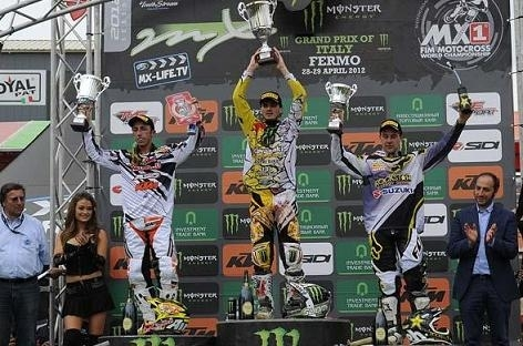 Motocross mondial en Italie : MX 1, la victoire pour Christophe Pourcel devant Antonio Cairoli