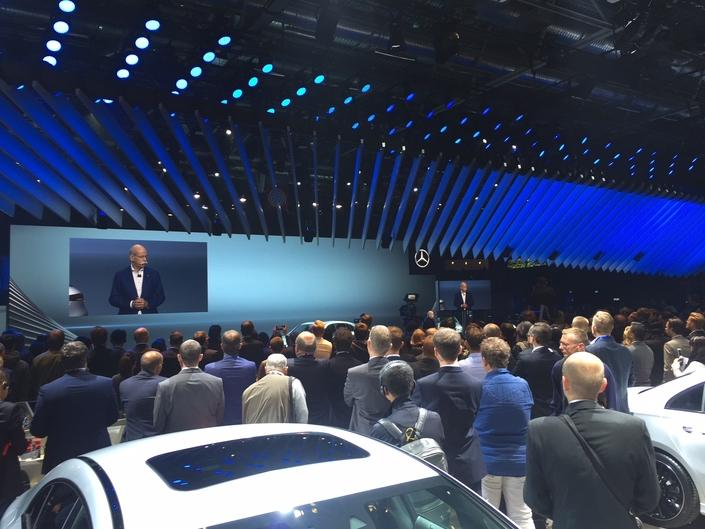 Mercedes : toutes les nouveautés présentes sur le stand en avant-première - Mondial de l'auto 2018 (live)