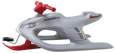 Luges Porsche pour Noël : Junior sera heureux, papa aussi