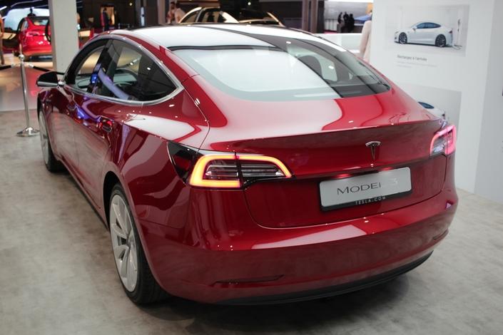 Tesla annonce un Cx de 0,23 pour la Model 3.
