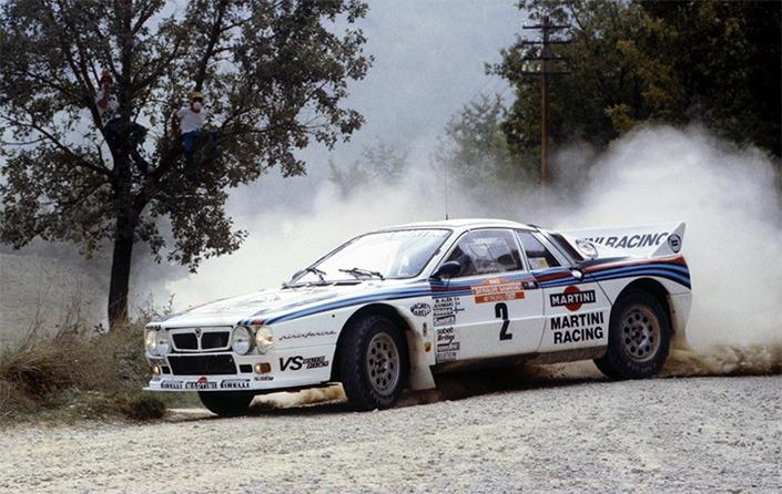 La Lancia «projet 037» d'origine, destinée à participer au Championnat du Monde des Rallyes, était dotée d'un moteur de 320 ch.