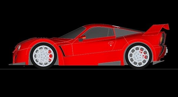 Ralph Schwerdorffer, concepteur designer, travaille depuis deux ans sur un concept visant à redonner vie à la Lancia 037.