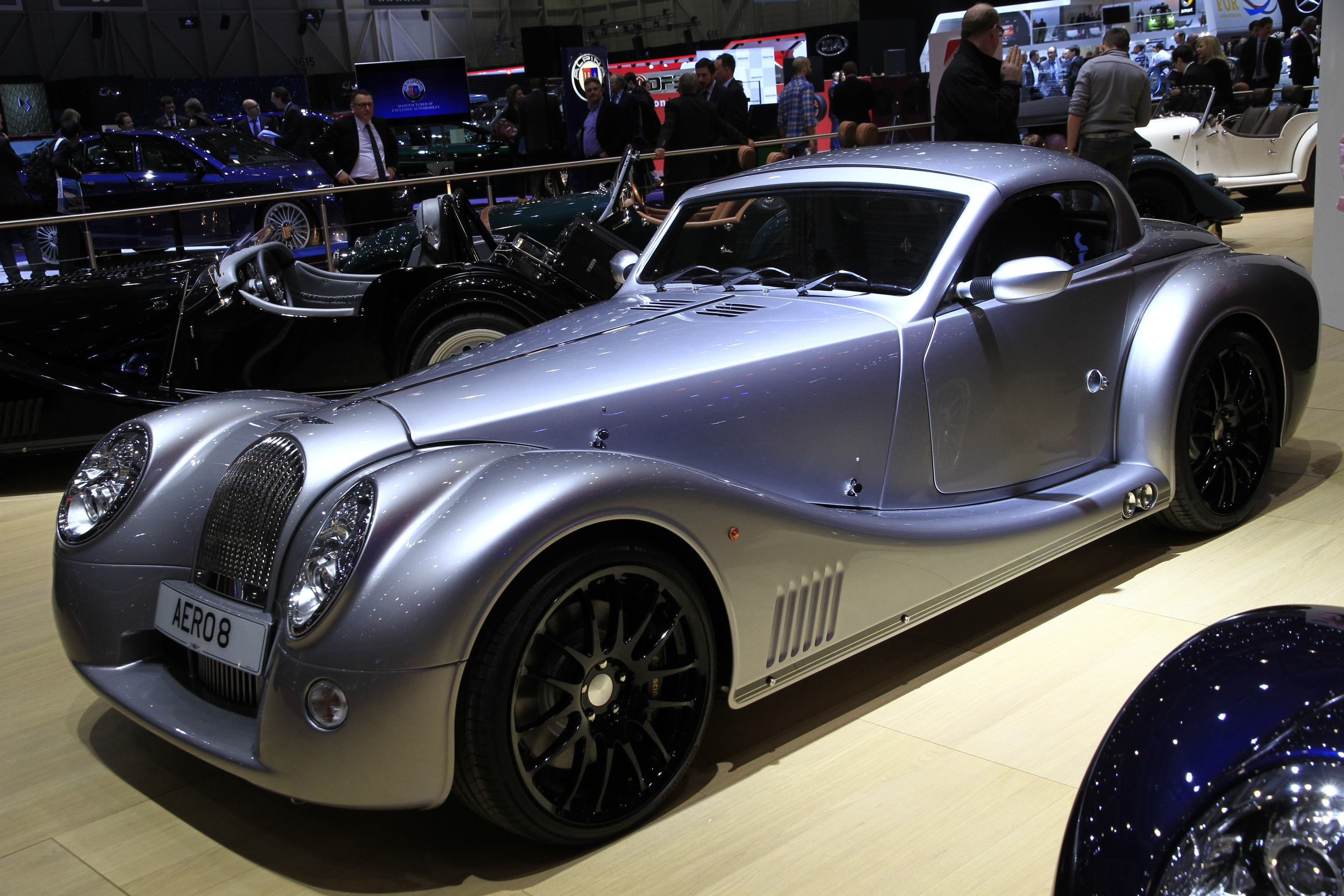 Morgan aero8 nouvelle vague en direct du salon de gen ve 2015 - Salon de geneve 2015 nouveaute ...
