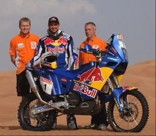 Dakar, près de 250 motos au départ.