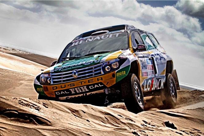 Un Renault Duster sur le Dakar (+1 vidéo)