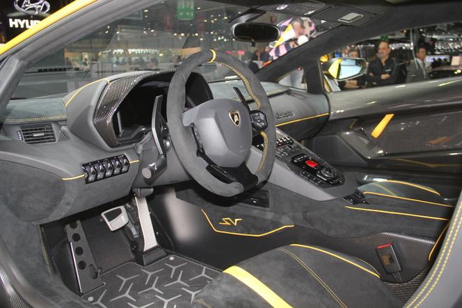 Lamborghini Aventador SV : pour Superveloce - En direct du salon de Genève 2015