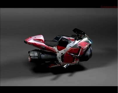 Moto virtuelle : Hayabusa HB concept (par GstylezProdigy)