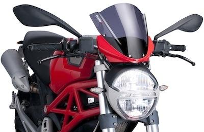 Bulle Puig pour la Ducati Monster.