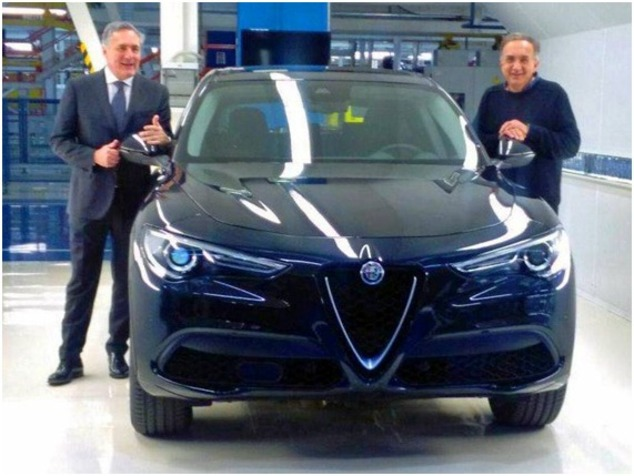 Surprise : voici l'Alfa Romeo Stelvio en finition de base
