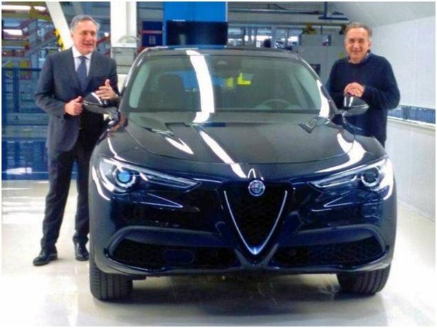 Surprise: voici l'Alfa Romeo Stelvio en finition de base