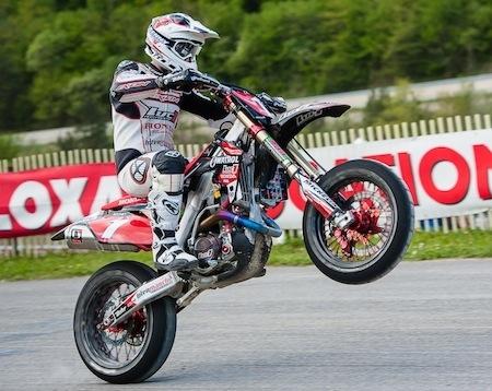 Supermotard, championnat de France 2012: Bidart était à Villars dans son jardin (interview)