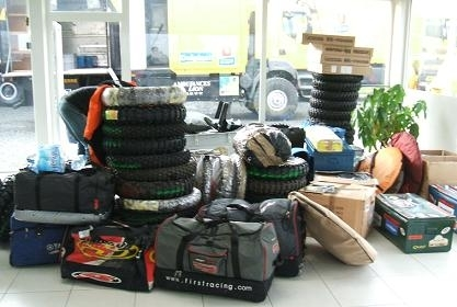 Visite du Team MD Rallye Sport.