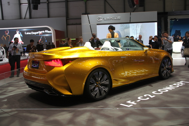 Lexus LF-C2 Concept : grand air - En direct du salon de Genève 2015