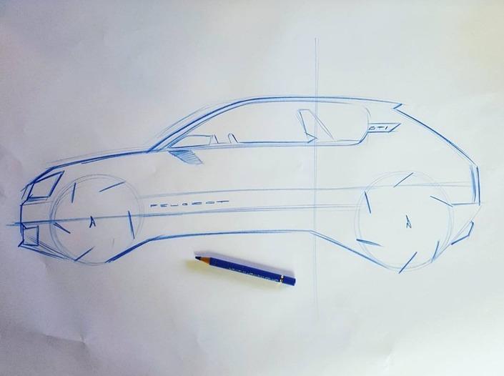 Le patron du style Peugeot montre sa vision de la 205 GTI moderne