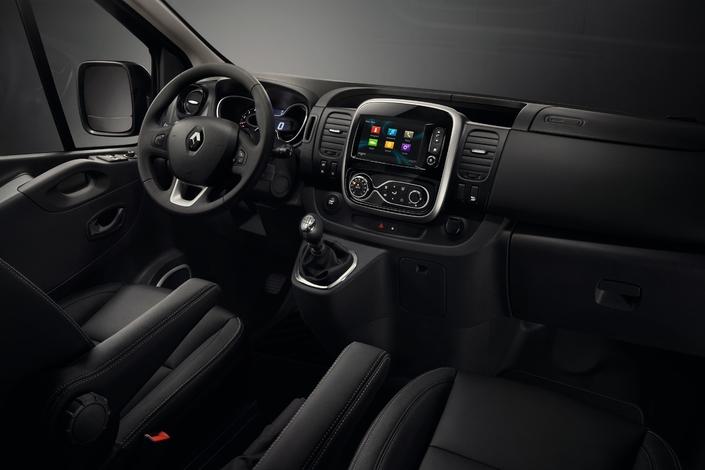Renault : le Trafic SpaceClass pour octobre 2017