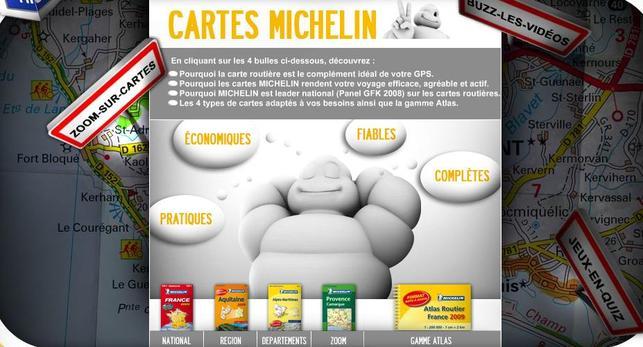 Michelin en campagne sur le Net pour défendre son bout de gras