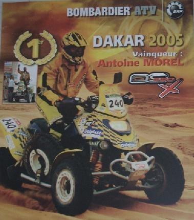 Interview d'Antoine Morel avant son départ pour le Dakar.