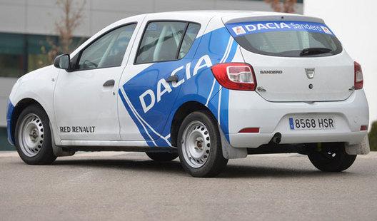 Une coupe Dacia Sandero en Espagne dès 2014