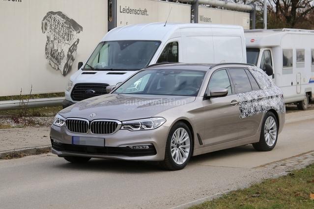 Scoop : le futur break BMW Série 5 prend la lumière