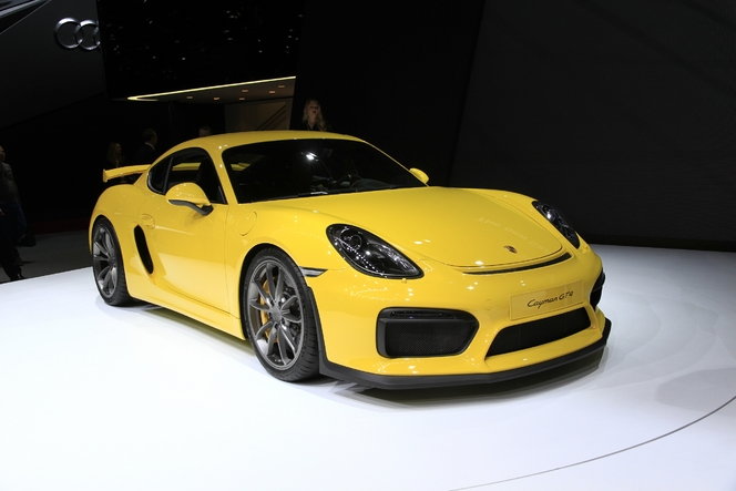 Porsche Cayman GT4 : animal sauvage - En direct du salon de Genève 2015
