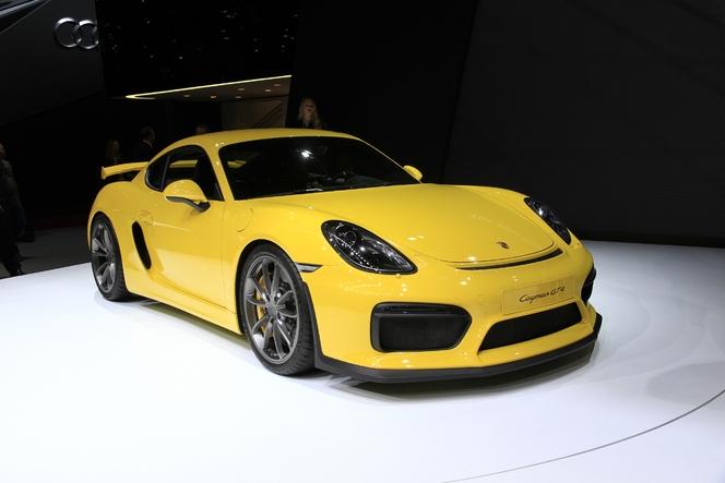 Porsche Cayman GT4 : animal sauvage - En direct du salon de Genève 2015