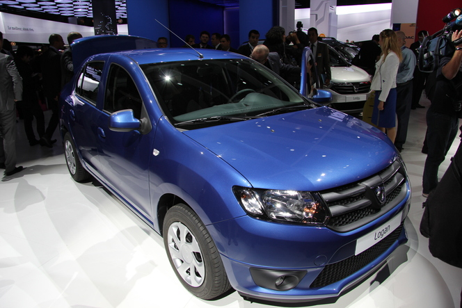 Vidéo en direct du Mondial 2012 - Dacia Logan 2 : best seller