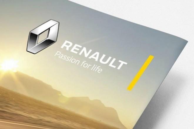 Renault : logo remanié et nouveau slogan