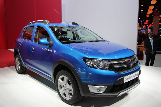 Vidéo en direct du Mondial 2012 - Dacia Sandero 2 : Top model