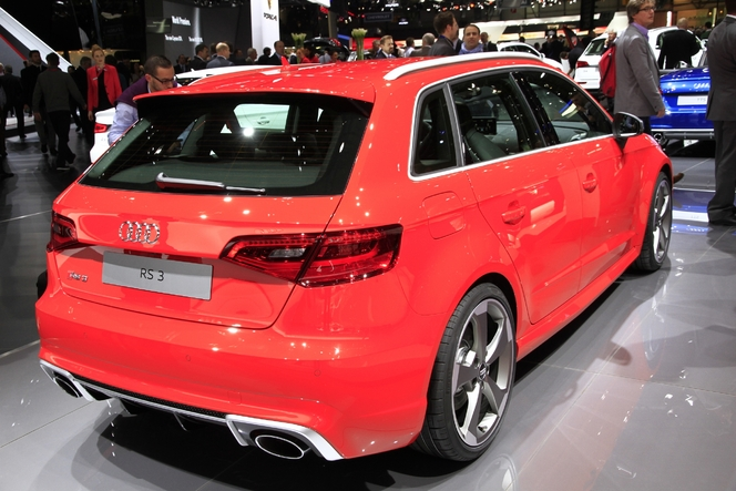 audi rs3 sportback la plus puissante des compactes en direct du salon de gen ve 2015. Black Bedroom Furniture Sets. Home Design Ideas