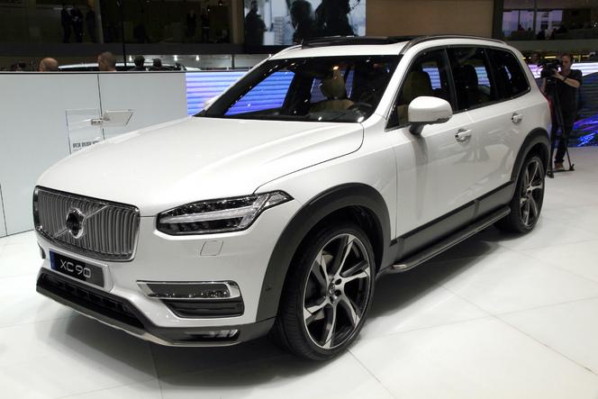 Volvo : de passage en famille - En direct du salon de Genève 2015