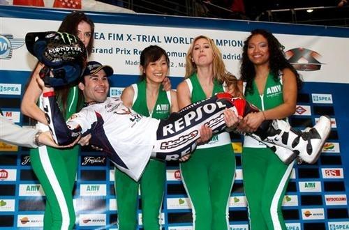 X-Trial - Madrid : Toni Bou champion du monde puissance 5