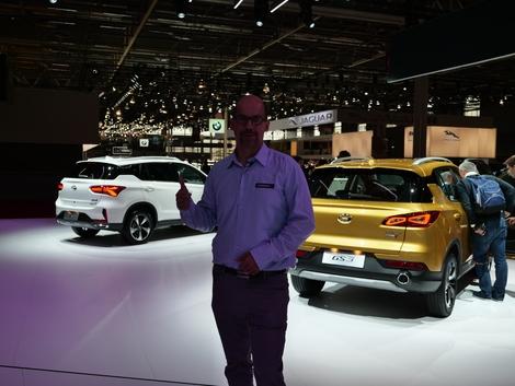 La gamme de Gac Motor ne se compose pas d'un seul modèle mais de nombreux modèles essentiellement des SUV.