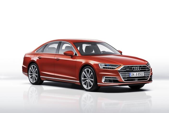 Audi A8 2017 :les premières infos, photos et images en live de la présentation