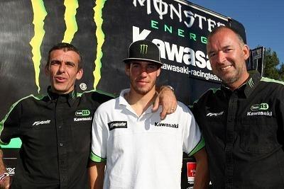 Motocross mondial : Steven Frossard confirmé chez Kawasaki CLS