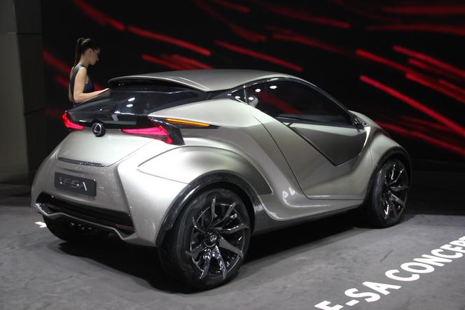 Lexus LF-SA Concept : nouveaux horizons - En direct du salon de Genève 2015