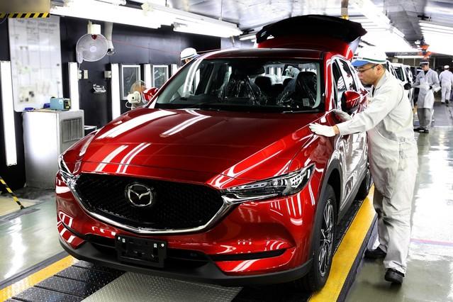 Mazda CX-5 : les premiers exemplaires sortent des chaînes