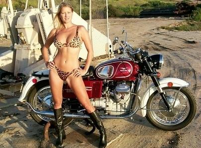 Moto (Guzzi) & Sexy : Libérez le fauve qui est en vous !