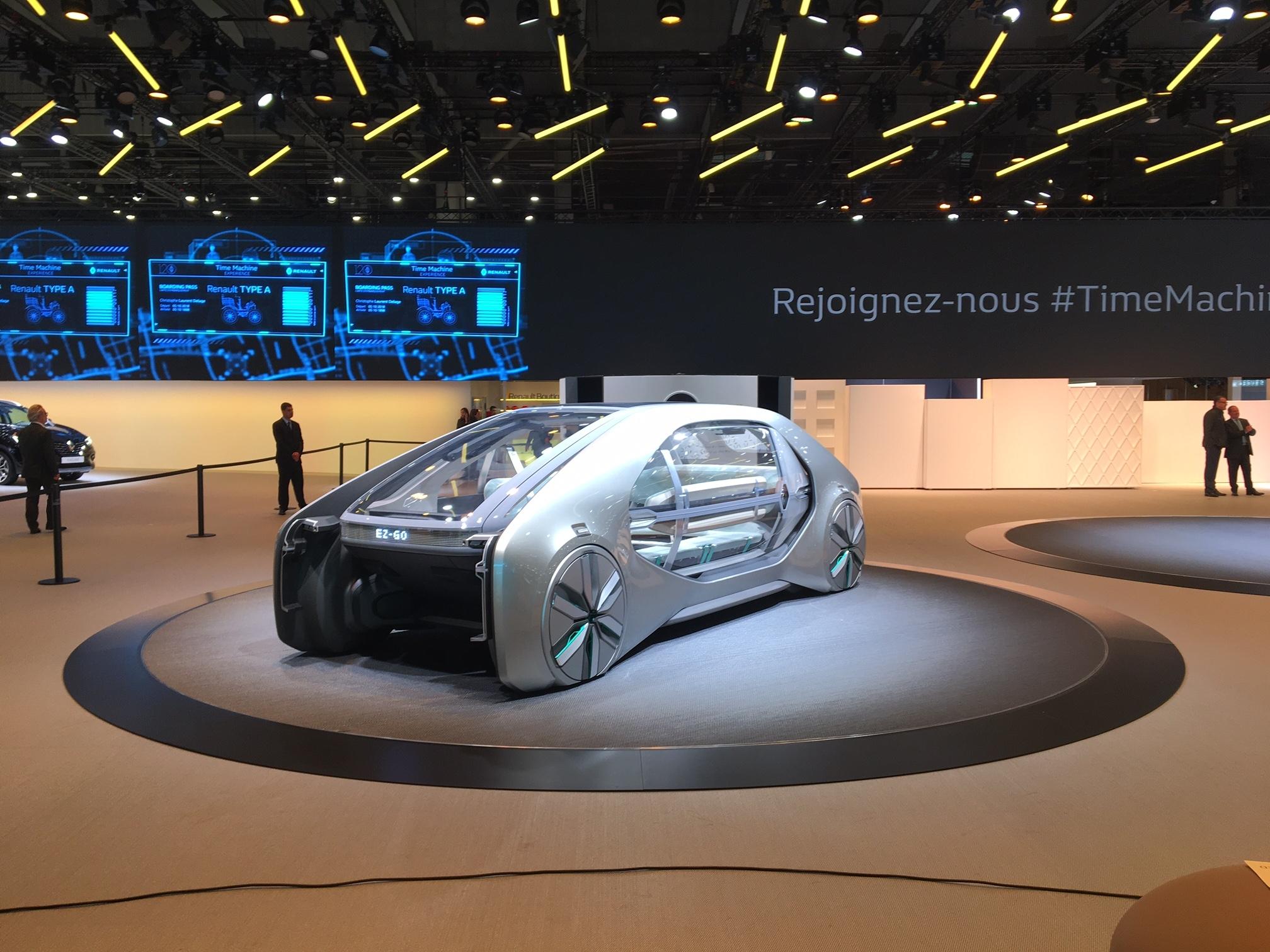 Renault Toutes Les Nouveautes Presentes Sur Le Stand En Avant