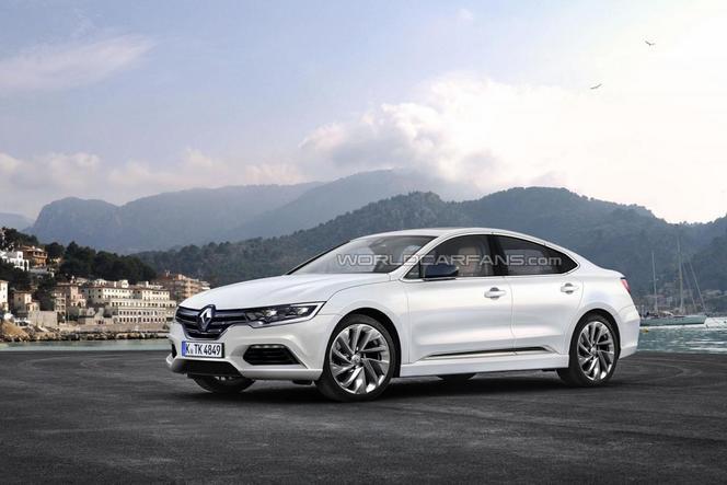 Future Renault Laguna : premières images des prototypes à la Réunion
