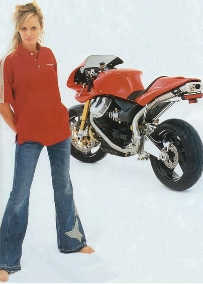 Moto (Guzzi) & Sexy : MGS-01