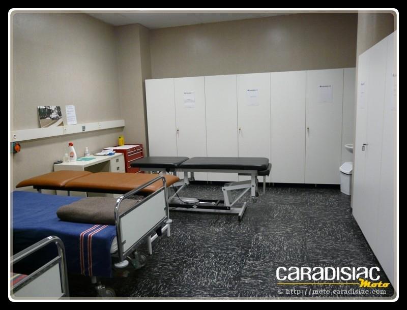 24 H du Mans - les coulisses : le centre médical où comment gérer 95.000 personnes