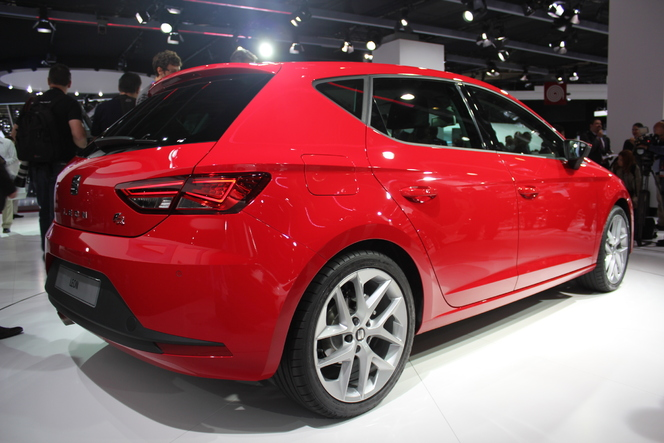 Video - en direct du Mondial 2012 : Seat Leon 3, la star du stand espagnol
