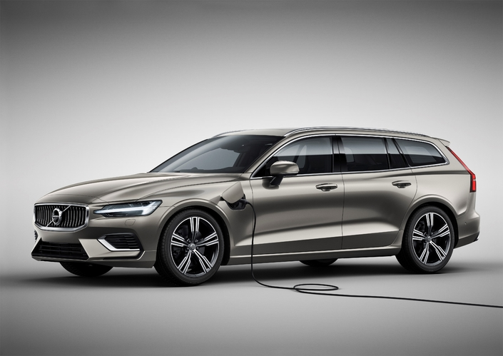 Volvo V60: l'hybride rechargeable T8 dès 61570€