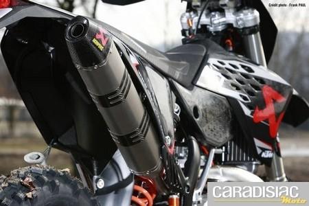 KTM vous offre un Akrapovic pour l'achat d'une EXC.