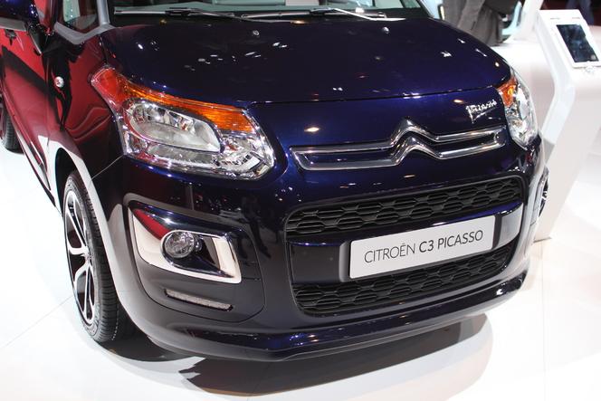 Vidéo en direct du Mondial 2012 : Citroën C3 Picasso restylé, le diable est dans les détails