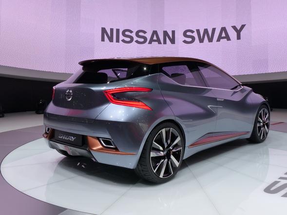 Nissan Sway concept : la future Micra ?  –  En direct du salon de Genève 2015