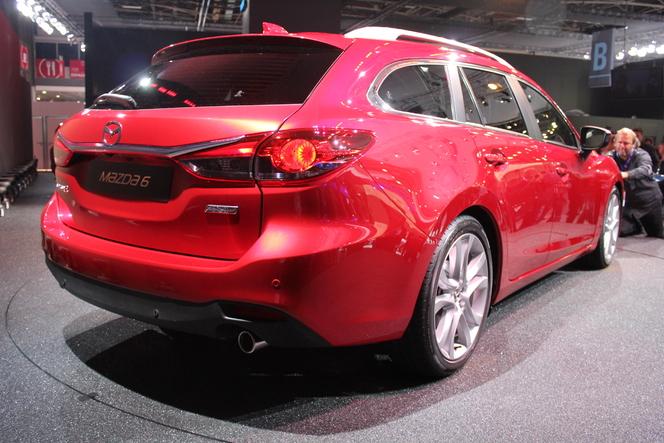 Vidéo - En direct du Mondial 2012 : Mazda 6 Wagon, au même prix que la berline