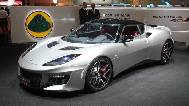 Lotus Evora 400 : l'ultime ? - En direct du salon de Genève 2015