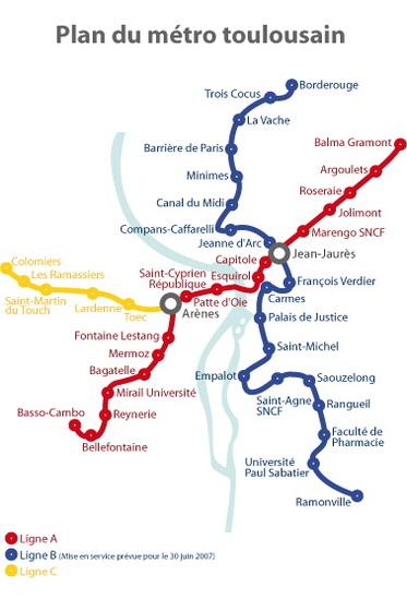 Toulouse : la seconde ligne du métro inaugurée. Le transport propre prend son envol.